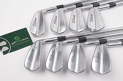 Titleist Mb 714 Forged Irons / 3-Pw / Stiff Project X 5.5 Steel  / 64673