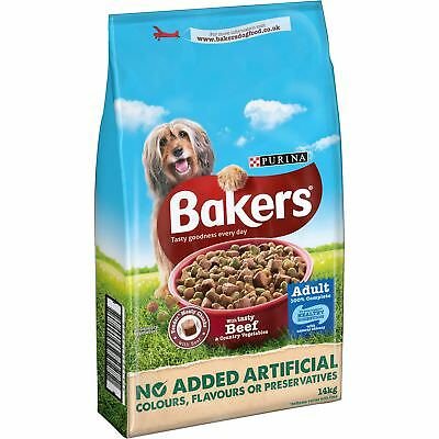 Bakers Adult Dog Food Beef and Veg 14 kg