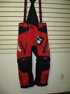 Fxr Mission X Pants Snowmobile  Sled Snowboarding- Red