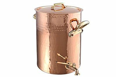 Mauviel Traditional Bronze - Copper Water Urn Samovar Tank with Tap - 13 Litre