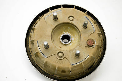 04 Honda Rubicon 500 Front Left Brake Drum Assembly & Shoes TRX500FA 4x4