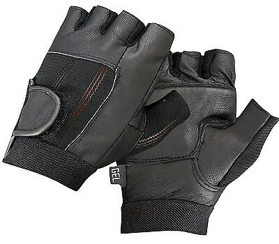 Gym Leather Gloves Gel Padded Palm Training Fitness Sports Cycling Cycle Bike