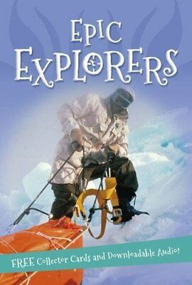 It's all about... Epic Explorers, Kingfisher, New Book