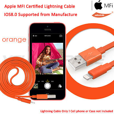 2xMFI Licenced Lightning Sync Cable+Stereo Headphone For Apple iPhone 7 7Plus 6S