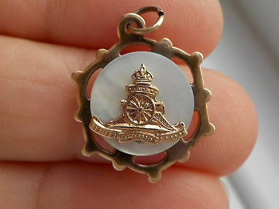 Mother Of Pearl Trench Art Pendant Metal Detecting Find