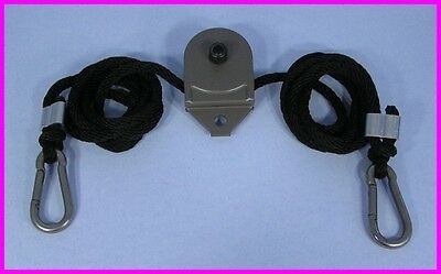 * Total Gym Leg Pulley Rope & Pulley + Connectors 1500 1700 Club Platinum Ultra
