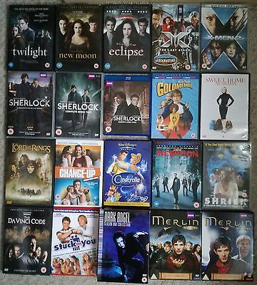 20 DVD BUNDLE MIXED (Incudes one bluray and box sets)