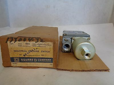 New In Box Square D 9012 Acw3S7 Pressure Switch