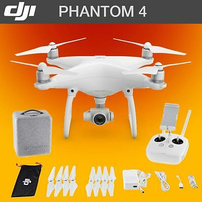 DJI Phantom 4 Drone Quadcopter 2017 Model 4k Video | 5km Range | 12MP HD Camera
