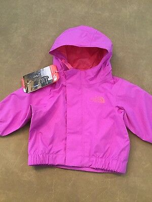 The North Face Infant Sweet Violet Dry Vent Hooded Jacket size 3 month NWT