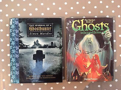 Ghost Books. Hamlyn book of Ghosts and The Jounal of a Ghosthunter by S Marsden