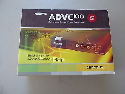 Canopus ADVC-100 Advanced Digital Video Converter, Analog / DV - FIREWIRE 800