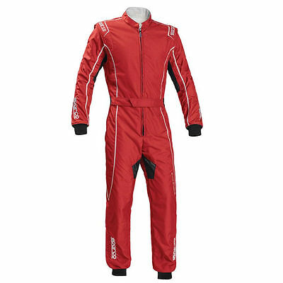 Suit SPARCO GROOVE KS-3 Kart KS3 Race Overall Red White CIK FIA NEW 2017 Size M