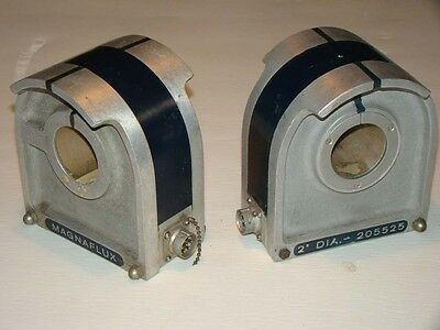 """Magnaflux Model 205525 2"""" Dia. Matching Pair Test Coil for 2"""" dia. Pipes  (376)"""