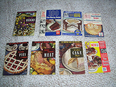 Lot Of 8 Vintage Cook Books