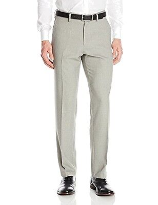 Kenneth Cole Reaction NEW Gray Mens Size 36x30 Stretch Dress Pants $85 171
