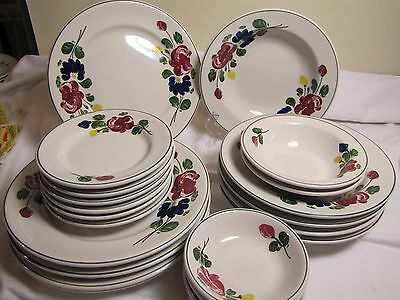 Shenango China Mexican Restaurant Ware (23 pieces)