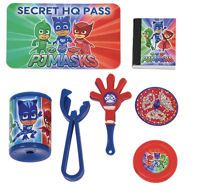 PJ Masks Mega Value Favors Pack~Kids Birthday Party Supplies Piñata Fillers 48pc