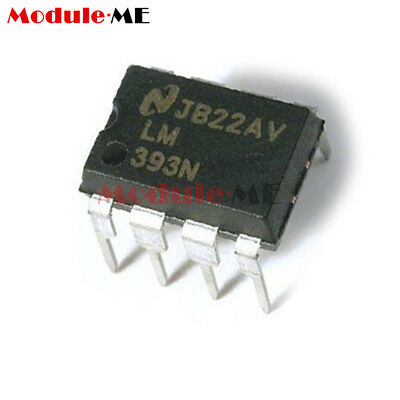 50Pcs LM393P LM393N LM393 DIP-8 Low Power Voltage Comparator IC UK