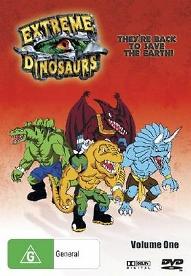 Extreme Dinosaurs : Vol 1 (DVD, 2006, 2-Disc Set) Brand New  Region 4