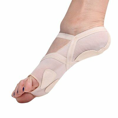 Lady Ballet Dance Flat Foot Thong Heel Protector Belly Pad Toe Socks Yoga Gym