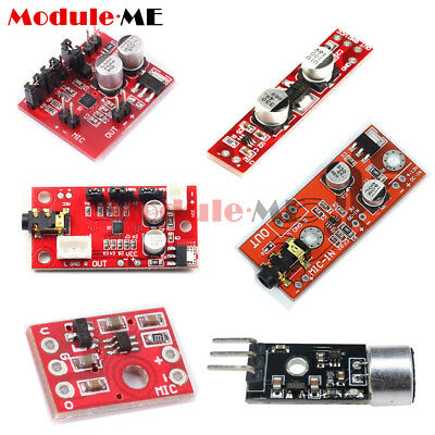 MAX9814/MAX9812 3V-12V Electret Microphone Amplifier Module Board for Arduino