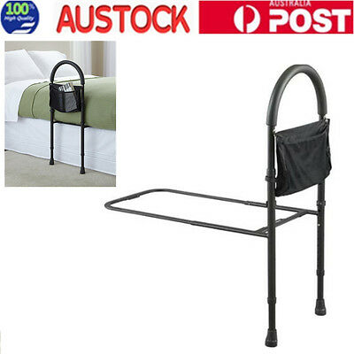 Bed Rails For Elderly Adult Seniors Handicap Adjustable Bedrail Safety Guard AU