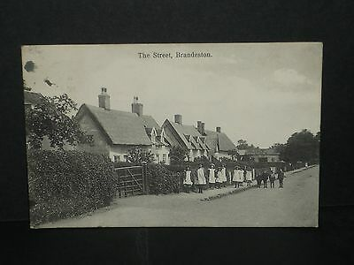 Suffolk - The Street , Brandeston 1908