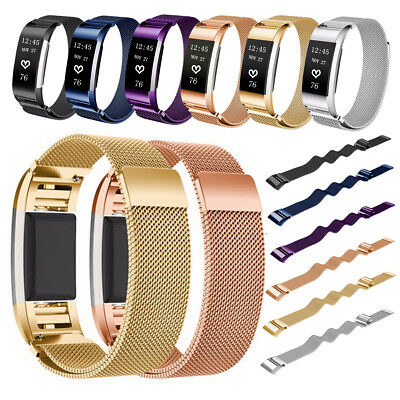 Replacement Wristband Strap Magnetic Stainless Steel Bracelet for Fitbit Alta HR