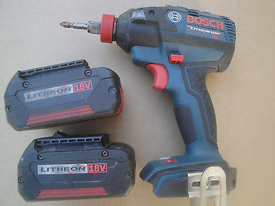 BOSCH 18V Li-Ion cordless,all in one SOCKET READY IMPACT driver, brushless