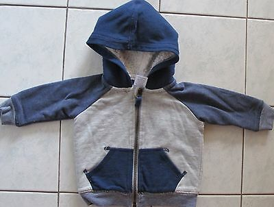 Boy's fully lined fluffy lining hoodie size 00
