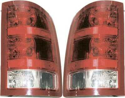 Left Right Pair (2) New Tail Light Assemblies fits 07-12 GMC Sierra 15/25/3500