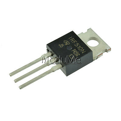 10Pcs IRF510NPBF IRF510N IRF510 Power MOSFET N-Channel 100V 5.6A New MO