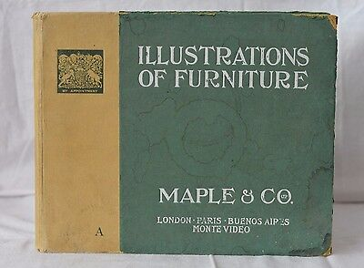 Illustrations Of Furniture ,Maple & Co Furniture Catalogue