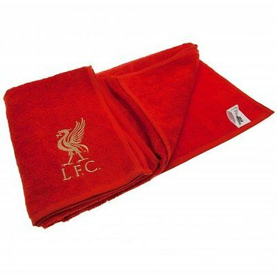 Liverpool F.C. Jacquard Embroidered Towel Official Merchandise