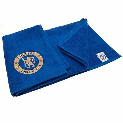 Chelsea F.C. Jacquard Embroidered Towel Official Merchandise