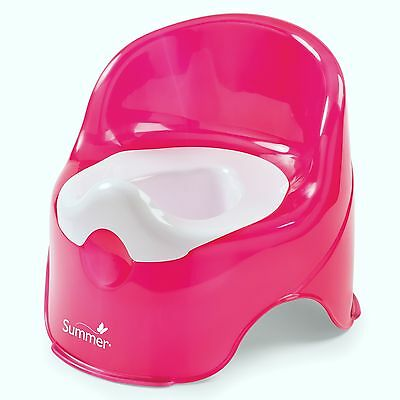 Potty Trainer Toilet Training Seat Infant Baby Toddler Kids Girls Chair Pot Pink