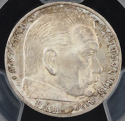 Germany, Third Reich 2 Reichsmark, 1936-E, PCGS MS 62