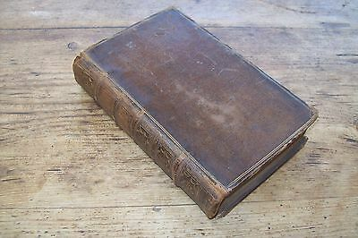 1757 The Works of Shakespeare Vol VIII, Romeo, Hamlet, Othello, Index, leather