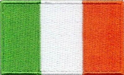 Irish Flag Small Iron On / Sew On Patch Badge 6 x 3.5cm IRELAND EIRE