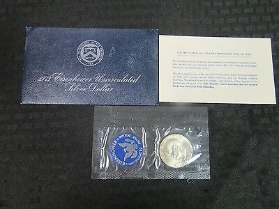 1973 S Eisenhower Uncirculated Dollar Coin