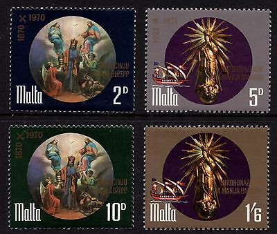 Malta 1971 Prodamation of St. Joseph Complete Set SG 452 - 5 Unmounted Mint