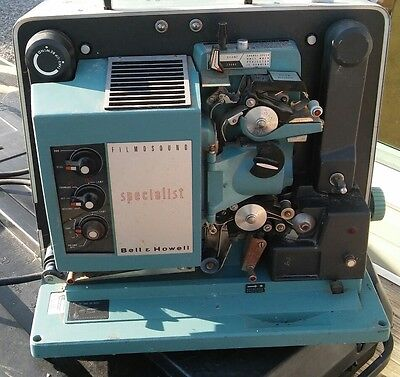 Bell & Howell 16mm Specialist Movie Filmsound Projector 552 for parts