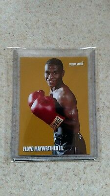 Floyd Mayweather Boxing Rookie Card - Gold - Rare Serial 1/5 Only Five Exist