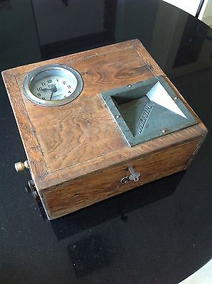 Vintage Antique Blick Stafsine Time Recorder Clocking In Clock In Machine