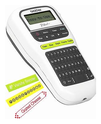 New Model Brother Portable P-Touch Label Maker Machine (PTH110)