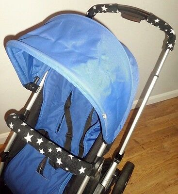 Handle Bar & Bumper Bar Cover Set to fit the MOTHERCARE JOURNEY