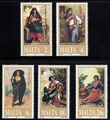 Malta 2001 Edward Dingli Commemoration Complete Set SG 1204 - 08 Unmounted Mint