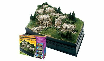 Woodland Scenics SP4111, Mountain Diorama Kit