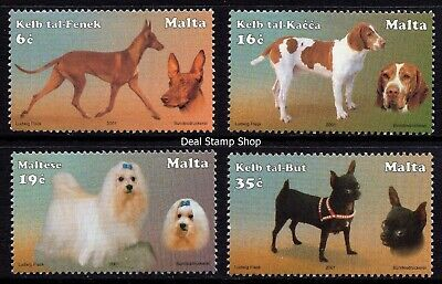 Malta 2001 Maltese Dogs Complete Set SG 1235 - 1238 Unmounted Mint